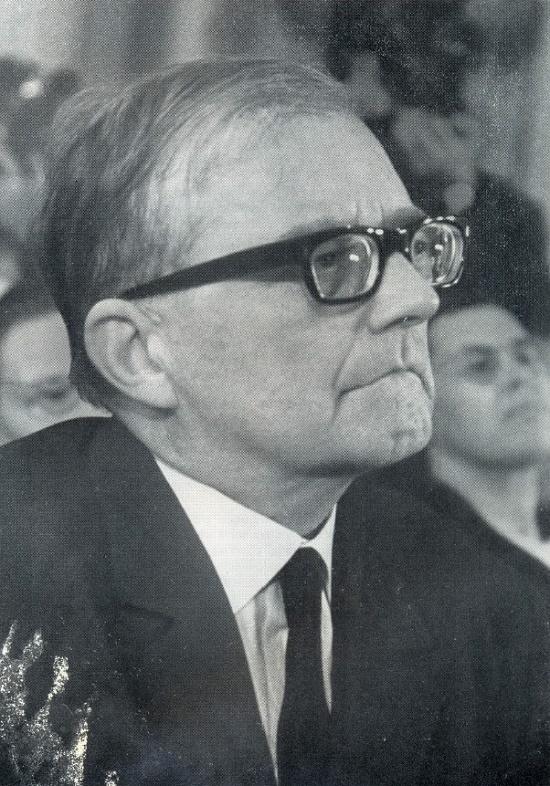 Composer Dmitry Shostakovich. Outstanding figures of Soviet art Heroes of Socialist Labor