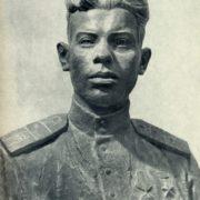 D. Shvarts. Portrait of I.K. Boyev. 1943