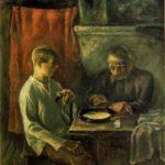 Soviet Russian artist Ivan Georgievich Drozdov