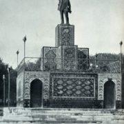 E.R. Tripolskaya, A.A. Karelin. Monument to Lenin in Ashkhabad. Bronze, ceramics. 1927