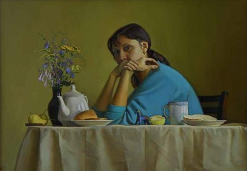 End of summer. 2003. Artist T.V. Bolkunova
