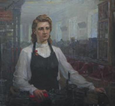 F.A. Morodov. Lidiya Korabelnikova. 1950s