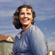 Famous Soviet actress Ritenberga