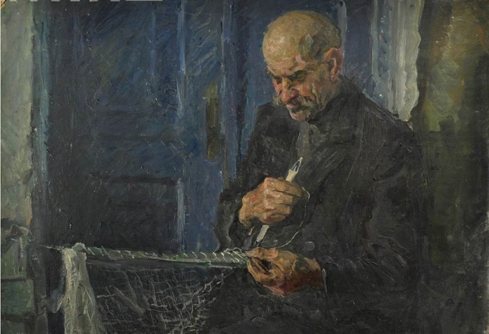 Fisher's portrait. 1940s, sketch