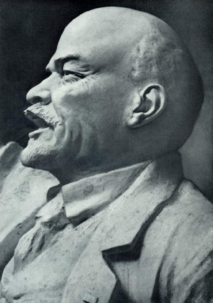 G.D. Alexeyev. Calling leader. Gypsum. 1922-1924. Fragment