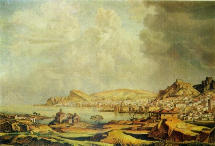 G.F. Bogayevsky. Kaffa (Old Feodosia). 1927