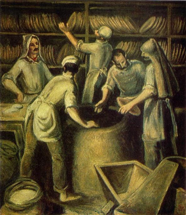 G.N. Agapishvili G.N. Georgian bread. 1979