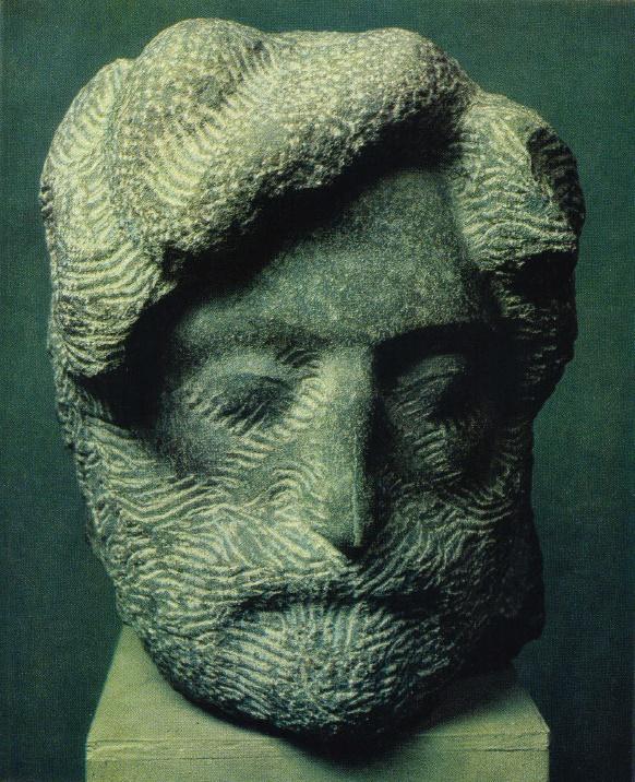 G.V. Bagumyan. Archeologist Aram Muradyan. 1979
