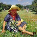 Soviet artist Gleb Ivanovich Barabanshchikov 1910-1987