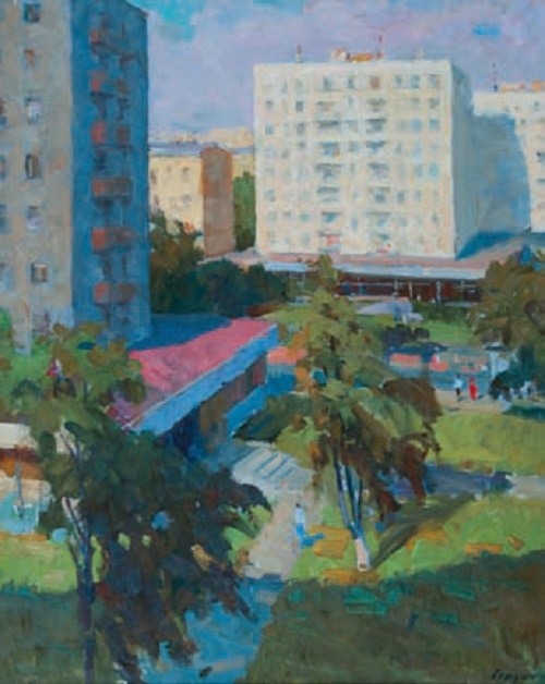 Grigory Gordon (1909 - 1993). Upper Maslovka. Canvas, oil. 1963