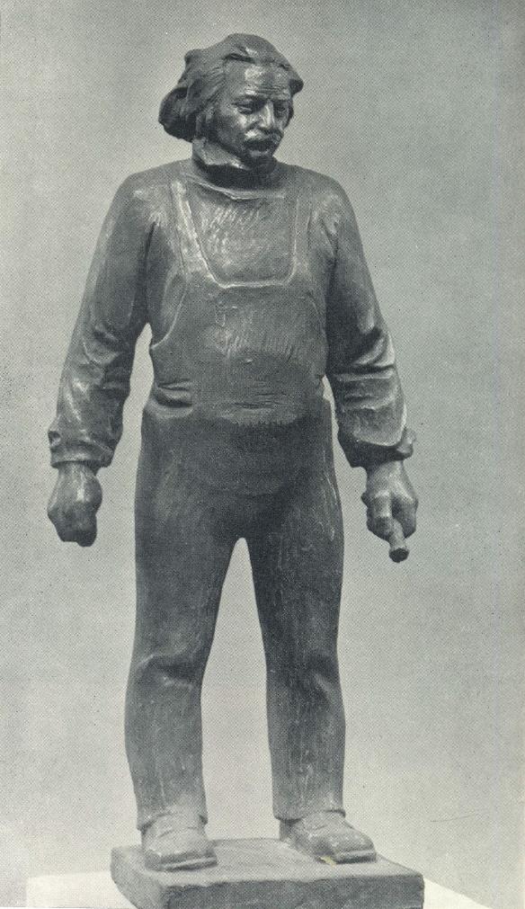 H.A. Akhmedov. Sculptor M. Marksimov. 1979