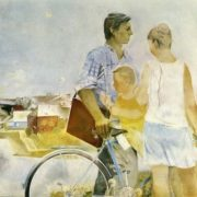 I.G. Uralov. End of summer. 1976