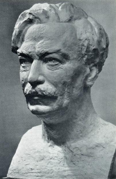 I.I. Niss-Golman. V.R. Menzhinsky. Gypsum. 1933