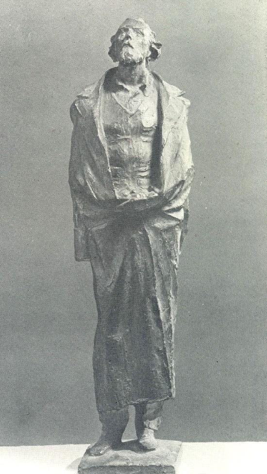 K.D. Sveshnikov. Konstantin Tsiolkovsky. 1978