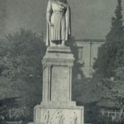 K.M. Merabishvili. Monument to Shota Rustaveli