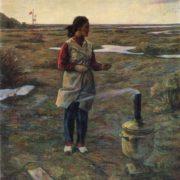 K.V. Mullashev. Spring wind. 1978