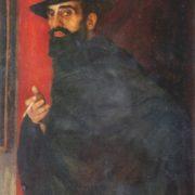 Ketavan Magalashvili (1894-1973). Portrait of sculptor Ya.I. Nikoladze. 1922