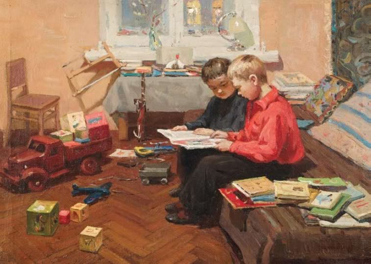 L.P. Lyakhovich. Ilya and Kirill