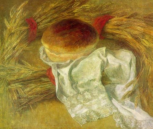 MD Koveshnikova (Barnaul). Altai Bread. 1981. Oil on canvas