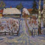 Soviet painter Alexandr Andreyevich Shumilkin