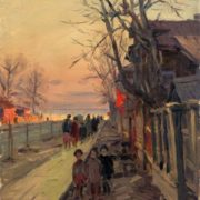May Day evening. 1954