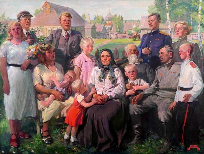 Mother-Hero. 1945