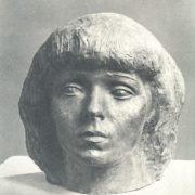 N. Atayev. Female portrait. 1978
