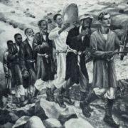 N.G. Karahan. Return of the reapers. 1936