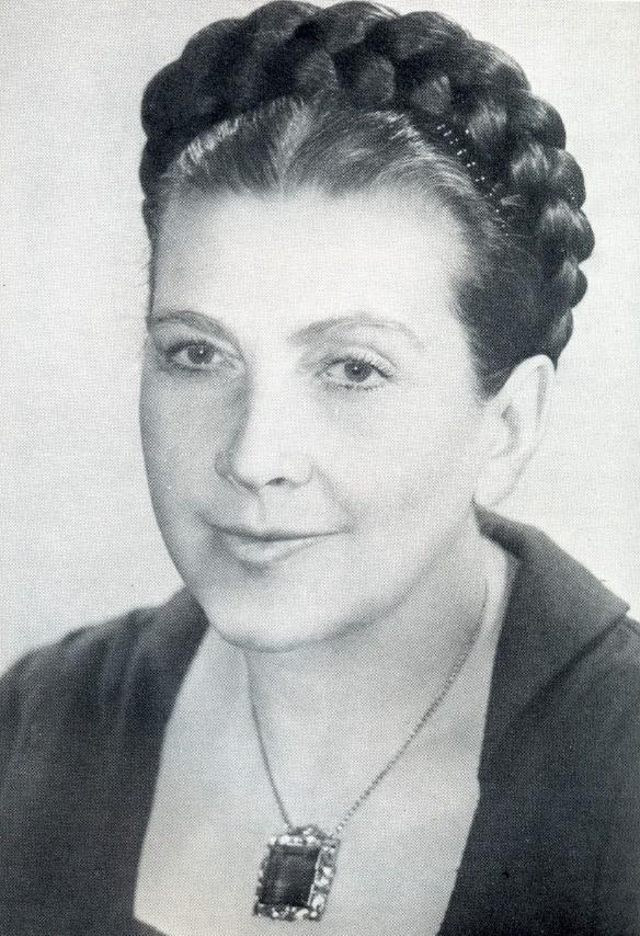 Nadezhda Sergeevna Nadezhdina (1908-1979), ballet dancer, choreographer