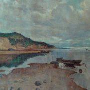 Nikolai Mukho (1913 - 1986). Cloudy day. Canvas, oil. 1950s