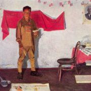 Nikolay Khristolyubov. Izba (Red corner)