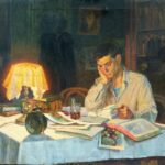Leniniana by Soviet artist Nikolay Andreyev
