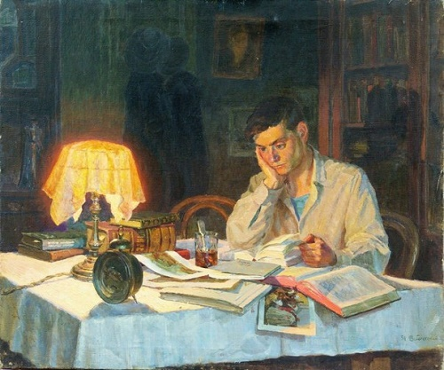 Nikolay Zabolotsky (1929). During the study. 1951