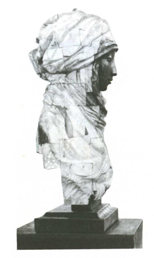 O. Poluboyarov (Moscow). Saltanat. Wood, bronze. 1988