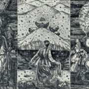 O.G. Yakutovich-Demina. Illustration to the tale by PP. Bazhov 'Malachite casket'. 1978