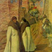 OB Omarov (Kaspiysk, Dagestan SSR). Godekan. 1981. Oil on canvas