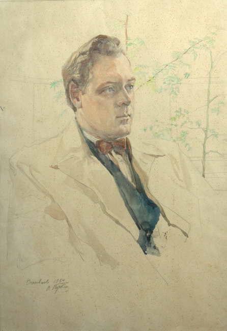 Ognivtesev's portrait. 1954