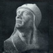 P.M. Ulyanov. Red Army soldier. Granite. 1933