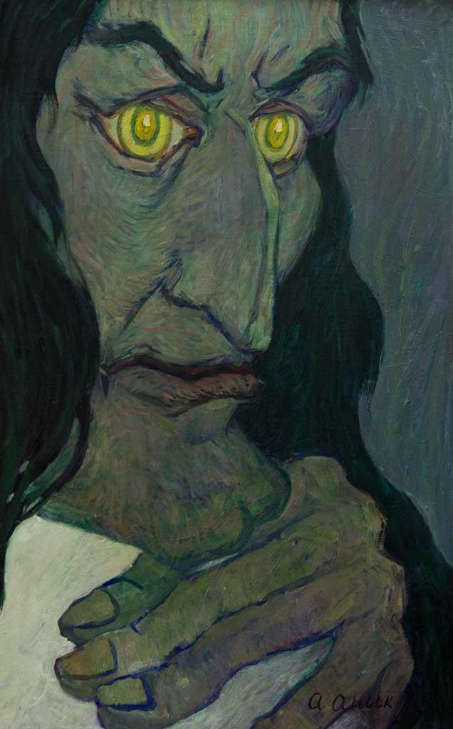 Paganini. 1963. Oil on canvas