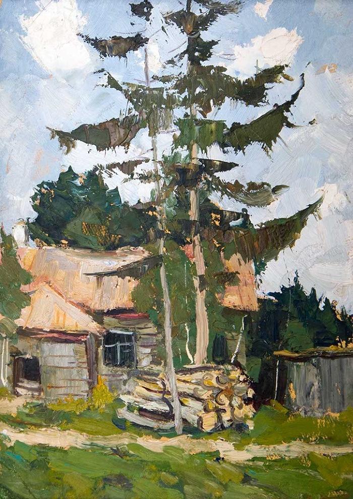 Pine tree. 1960s
