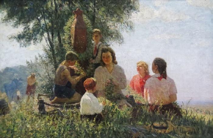 Pioneers' summer. 1950s
