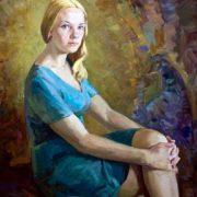 Portrait of N.A. Alimasova. 1974