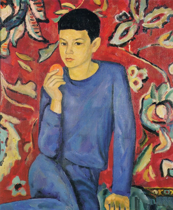 Portrait of a son. 1967. Oil, canvas