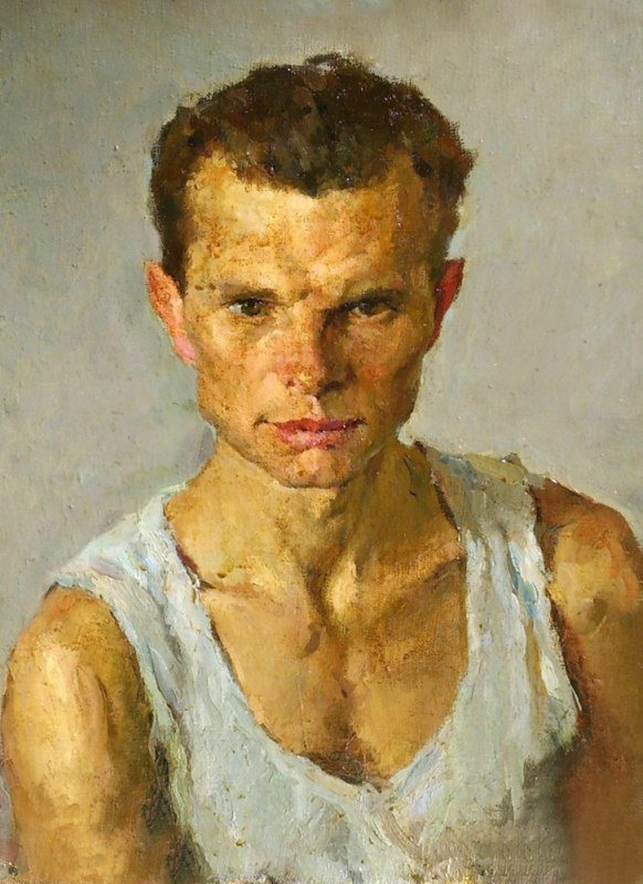 Portrait of a sportsman, 1956