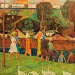 Soviet Russian artist Viktor Trofimovich Ni 1934-1979