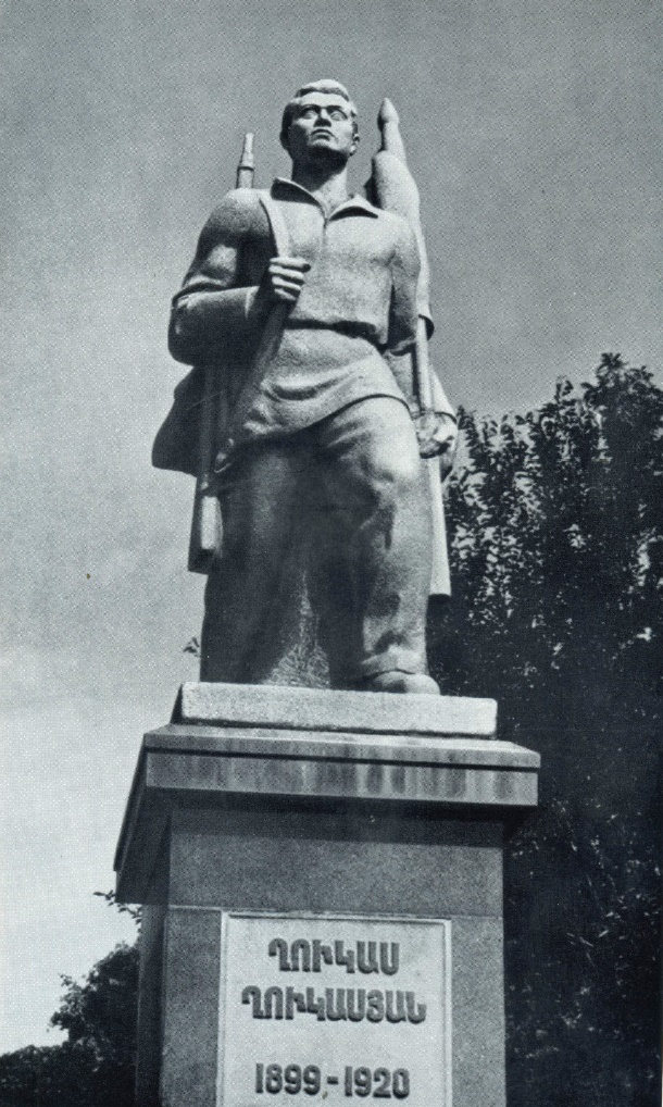 S.L. Stepanyan. Gukas Gukasyan monument in Yerevan. Granite. 1934