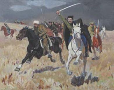 S.T. Kravchenko. Arrival of Chapaev. 1977-1978