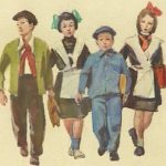 Soviet children life rule posters