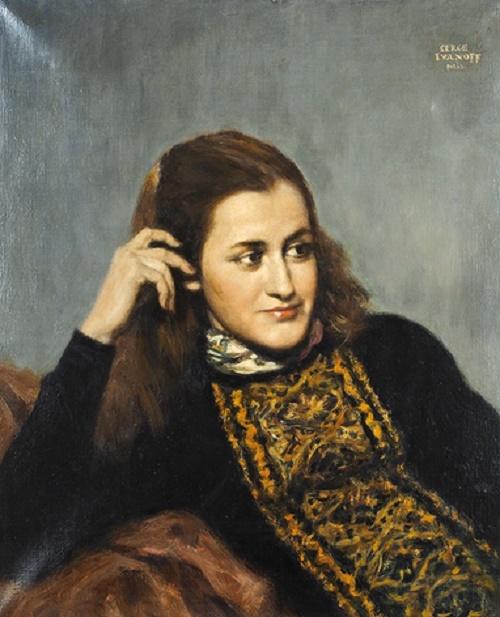 Sergei Ivanov (1893-1983). Female portrait
