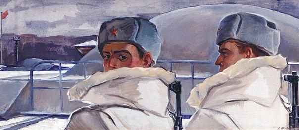 Sergey G. Antonov (1932-2006). Rocketeer. 1970